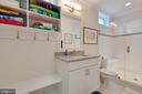 Basement Pool Bathroom - 3003 WEBER PL, OAKTON