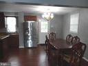 Kitchen/Dining Area - 1400 AIRPORT AVE, FREDERICKSBURG