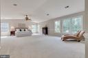 Wow!  What an incredible master bedroom - 9620 CHATHAMS FORD DR, VIENNA