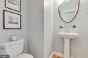 Cute half bath on main level too - 9620 CHATHAMS FORD DR, VIENNA
