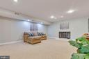 There is an area for TV, movie watching - 9620 CHATHAMS FORD DR, VIENNA