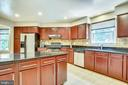 Spacious Kitchen with lots of cabinets- 2nd level- - 749 S GRANADA ST S, ARLINGTON