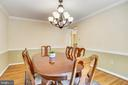 Formal Dining room- 2nd level- pic 2 - 749 S GRANADA ST S, ARLINGTON