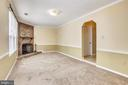 Rec Room-Lower Level- Pic 1- with Fireplace - 749 S GRANADA ST S, ARLINGTON