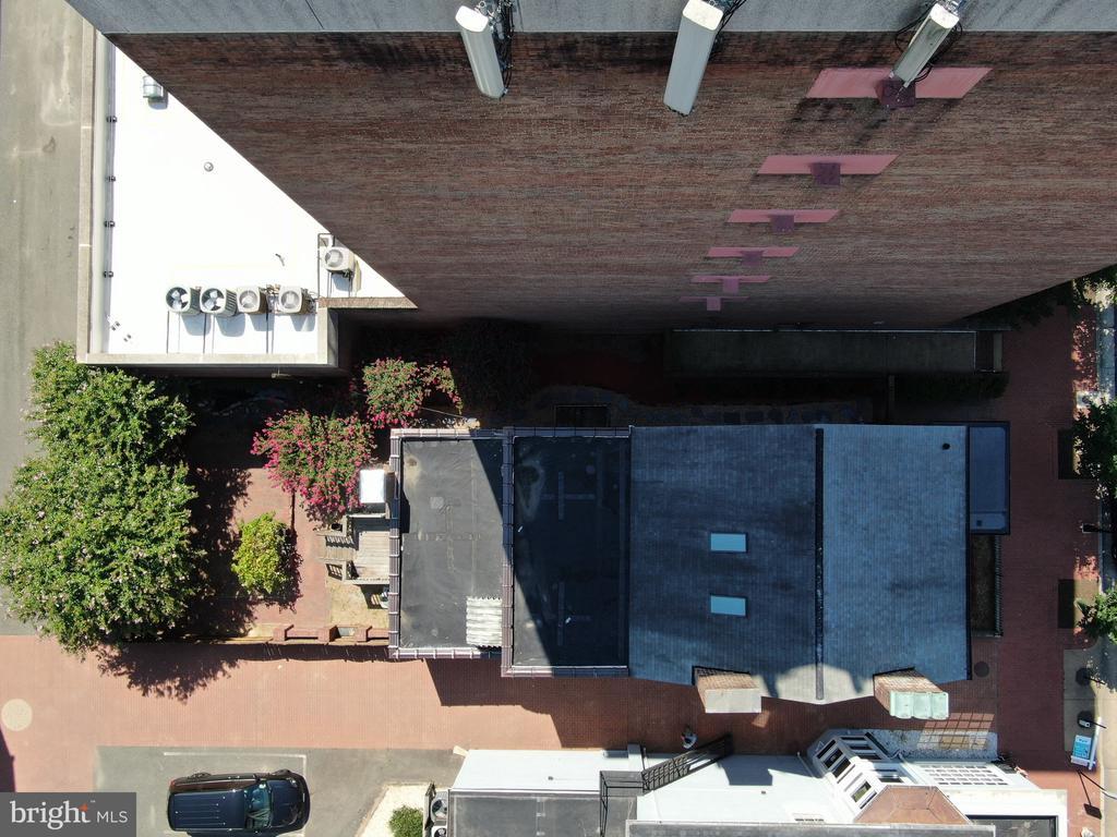 overhead view - 611 CAROLINE ST, FREDERICKSBURG