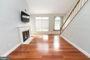 Bright, open floor plan - 2224 SPRINGWOOD DR #106A, RESTON