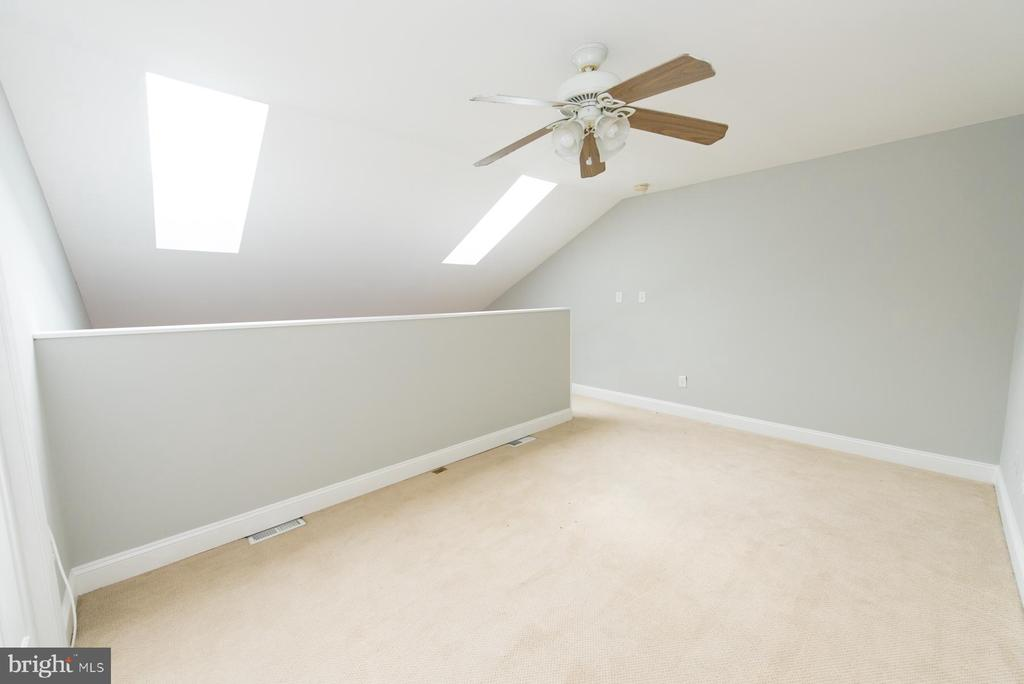 Skylights allow lots of natural light in - 2224 SPRINGWOOD DR #106A, RESTON