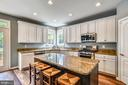 Updated Kitchen with Granite and New SS Appliances - 21536 INMAN PARK PL, ASHBURN