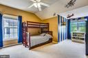 Large Bedroom 3 with Walk in Closet - 21536 INMAN PARK PL, ASHBURN