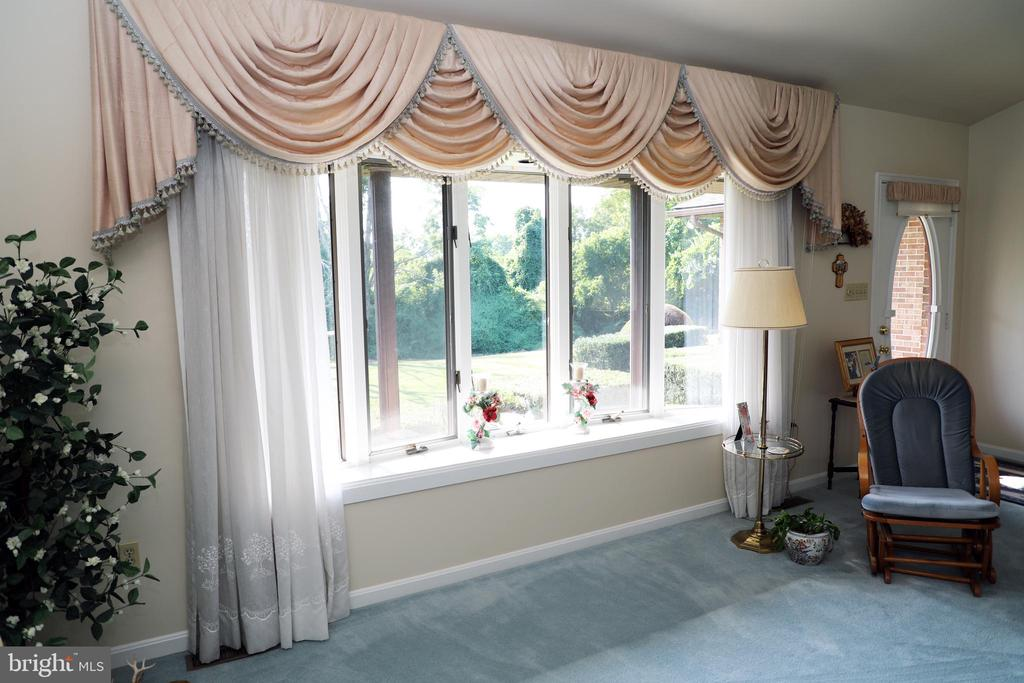 Large Sunny Bay Window allowing Natural lighting. - 7839 RIDGE RD, FREDERICK