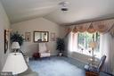 Formal living room with Cathedral/ Vaulted Ceiling - 7839 RIDGE RD, FREDERICK