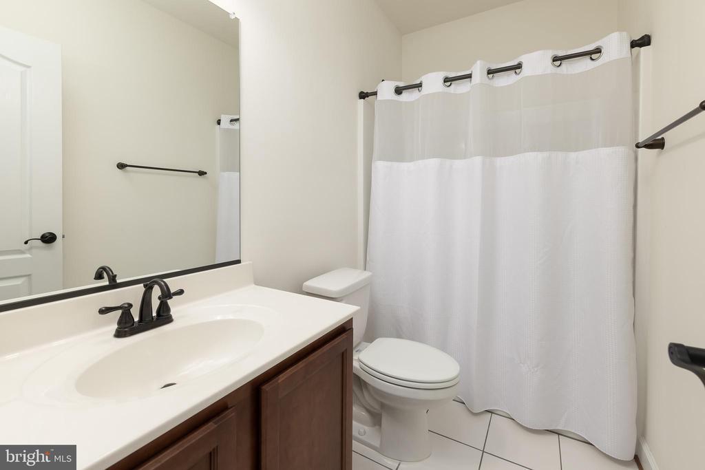 Lower Level Bathroom - 301 MT HOPE CHURCH RD, STAFFORD