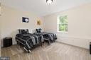 Lower Level Bedroom - 301 MT HOPE CHURCH RD, STAFFORD
