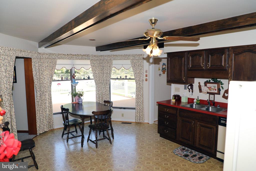 B/ Out large windows in Kitchen / Natural Sunlight - 7839 RIDGE RD, FREDERICK