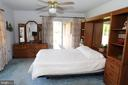 Master Bedroom with walk out to Pool / Patio - 7839 RIDGE RD, FREDERICK