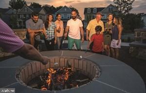 Community Firepit. Photo Credit: EmbreyMill.com - 203 APRICOT ST, STAFFORD