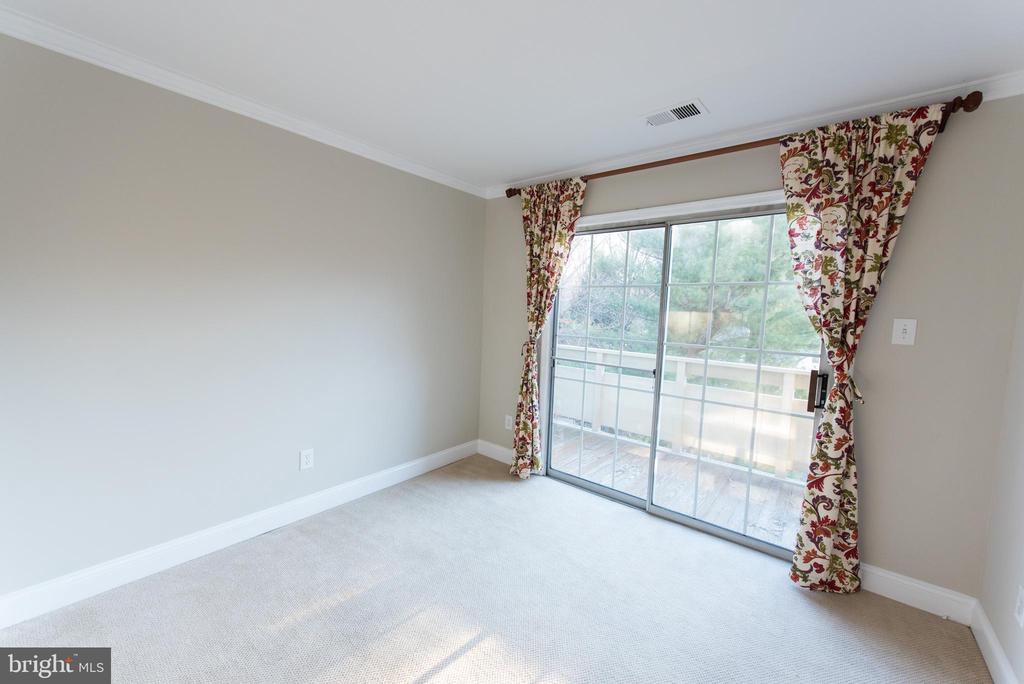 2nd bedroom also offers balcony access - 2224 SPRINGWOOD DR #106A, RESTON