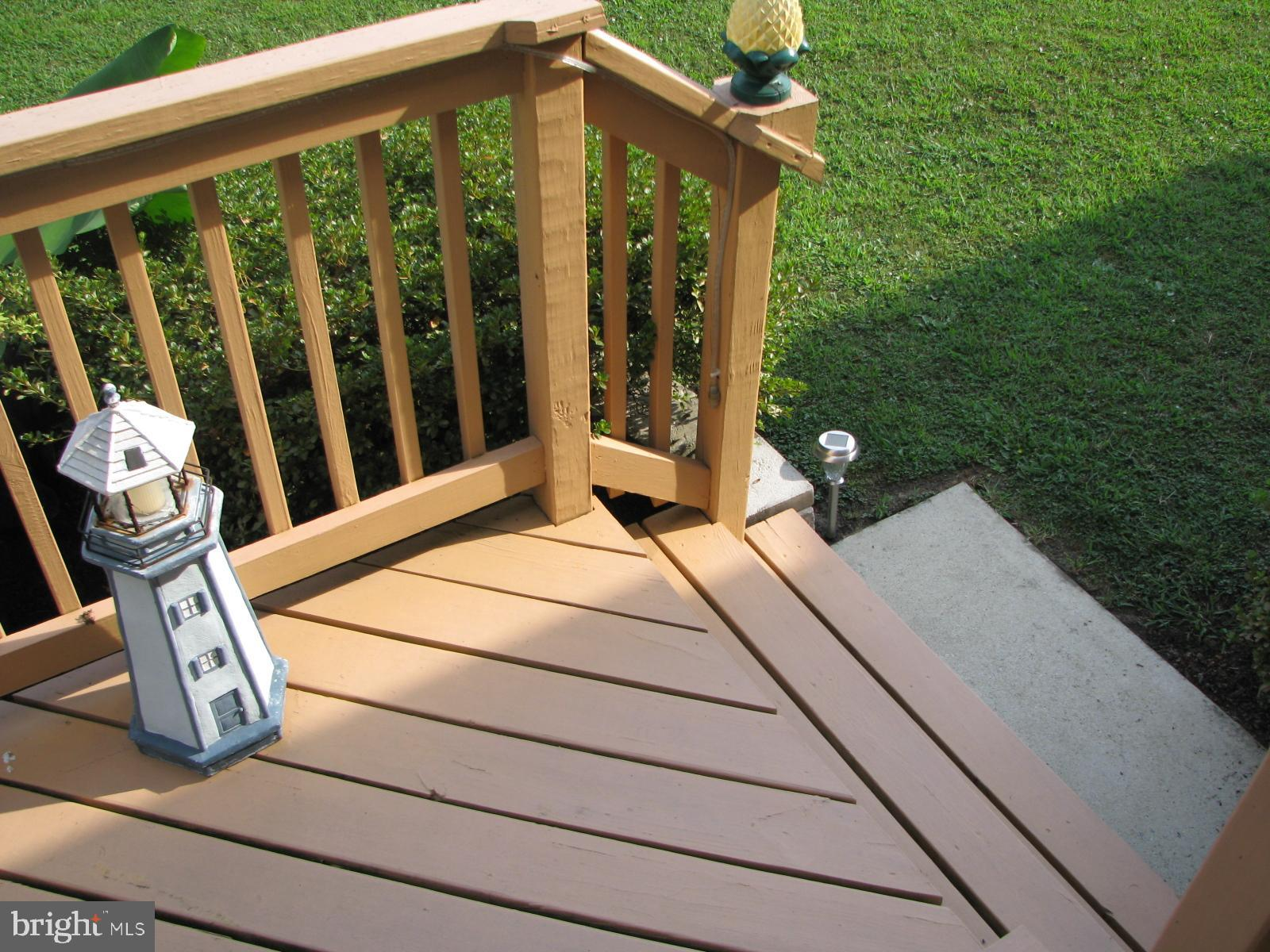 DECK - LOWEST LEVEL