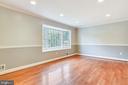 Large Living Room with Recessed Lighting. - 2996 SLEAFORD CT, WOODBRIDGE