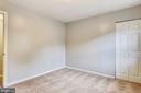 Bedroom 3 - New carpet on upper level. - 2996 SLEAFORD CT, WOODBRIDGE