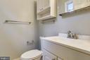 Half bath of Master Suite - 2996 SLEAFORD CT, WOODBRIDGE