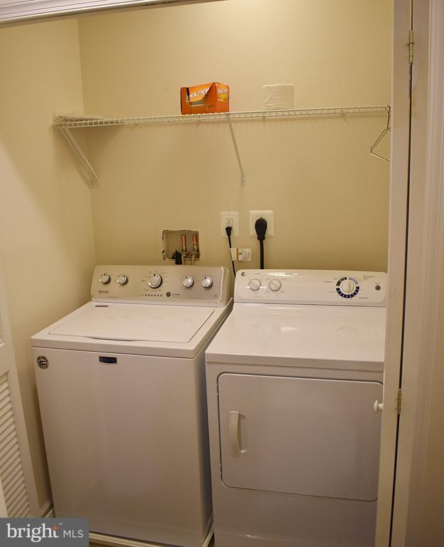 Upstairs Wash/Dry Closet with double doors - 14 ERIE, FALLING WATERS