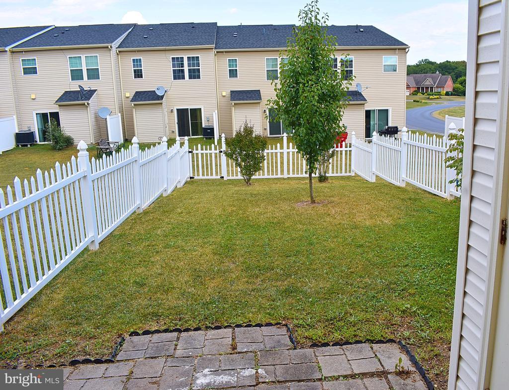 Fully fenced backyard - 14 ERIE, FALLING WATERS