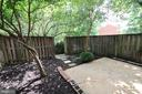 Shaded backyard - 2265 WHEYSTONE ST, VIENNA
