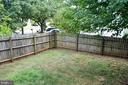 Fenced Yard - 9437 WATERFORD DR, MANASSAS