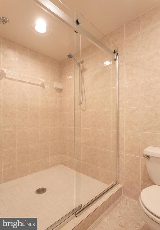Walk-In Master Bathroom  Seamless Shower - 6401 STALLION RD, CLIFTON