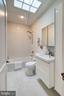 Full bath on second level - 407 DELAFIELD PL NW, WASHINGTON