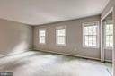 Master bedroom with tons of natural light - 2183 GREENKEEPERS CT, RESTON