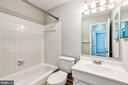 Second bathroom on upper level - 2183 GREENKEEPERS CT, RESTON