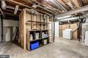 Unfinished space in lower level - 2183 GREENKEEPERS CT, RESTON