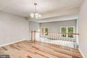 New hardwood floors throughout main level - 2183 GREENKEEPERS CT, RESTON