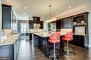 Gourmet kitchen - 23039 WELBOURNE WALK CT, ASHBURN