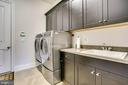 Main floor laundry - 23039 WELBOURNE WALK CT, ASHBURN