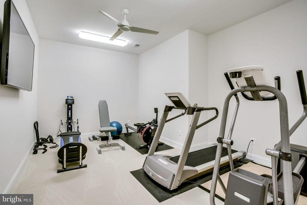 Exercise room - 23039 WELBOURNE WALK CT, ASHBURN