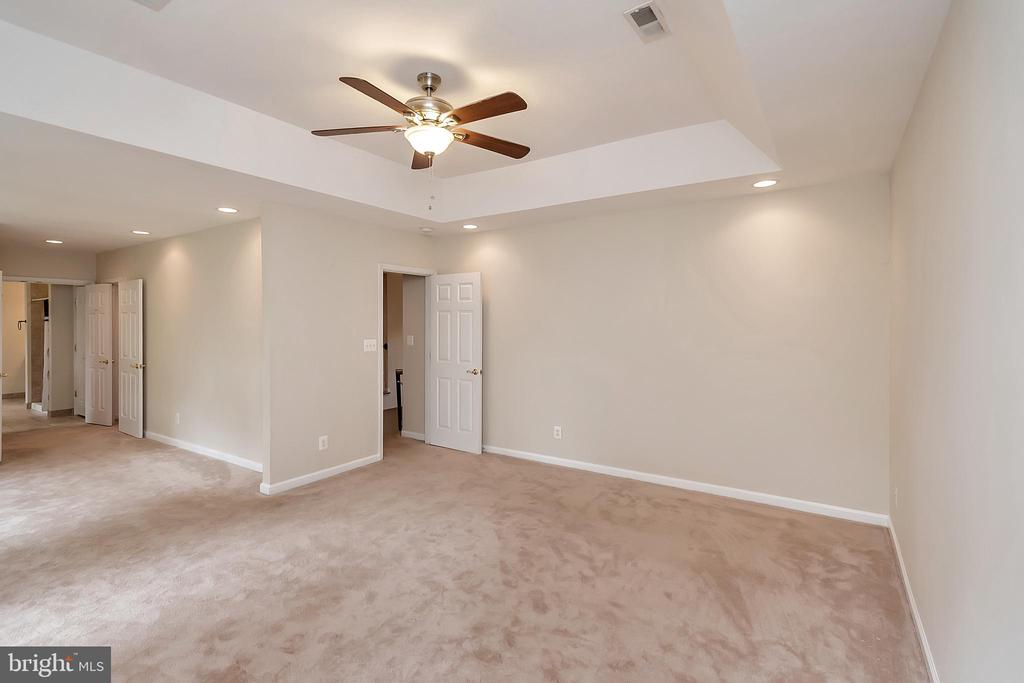 Huge master with dramatic tray ceiling - 812 EASTOVER PKWY, LOCUST GROVE