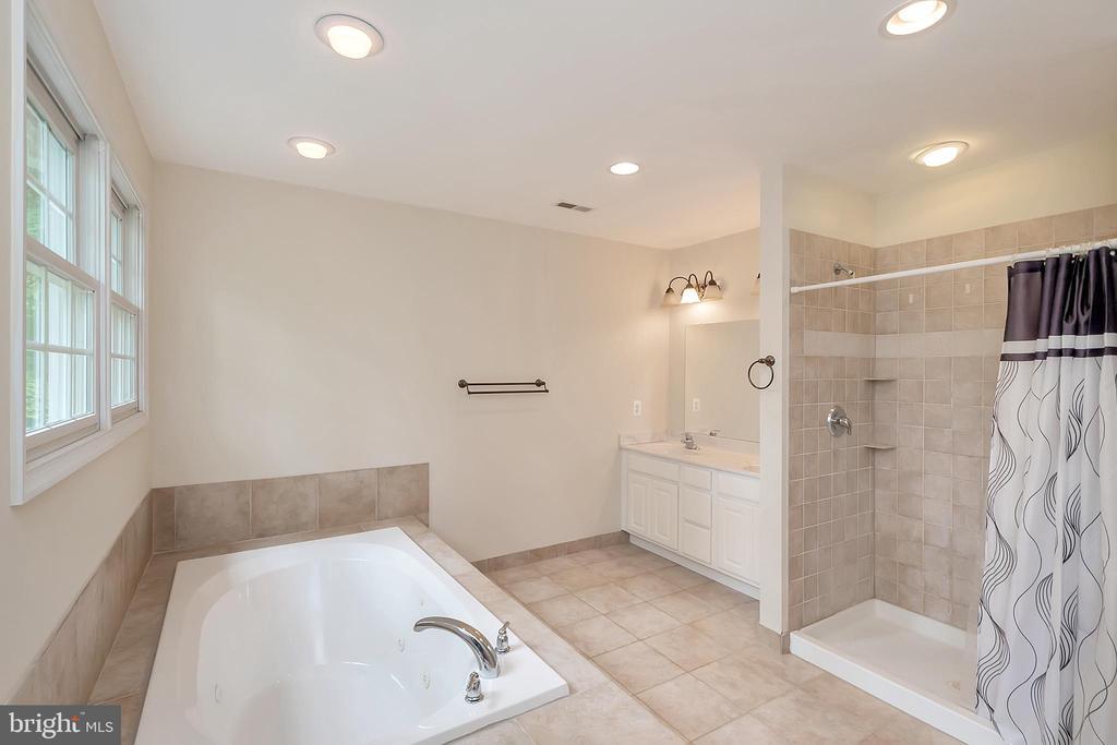 Luxurious master bath - 812 EASTOVER PKWY, LOCUST GROVE