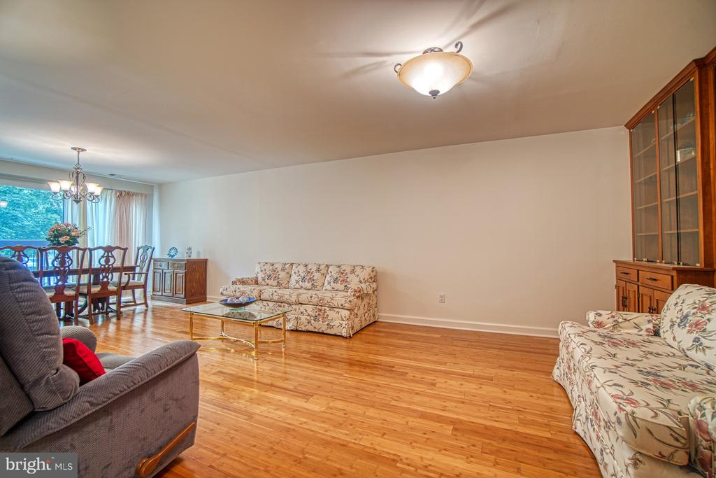 Living Room, alt view - 10300 BUSHMAN DR #210, OAKTON