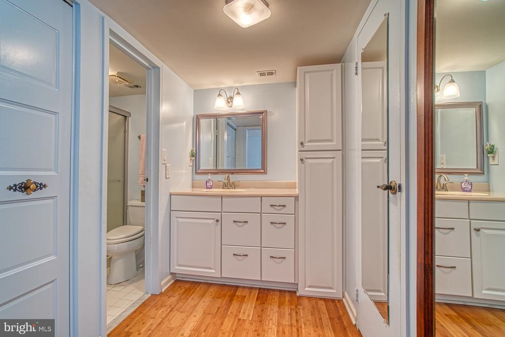 Master Bathroom, Dressing Area - 10300 BUSHMAN DR #210, OAKTON