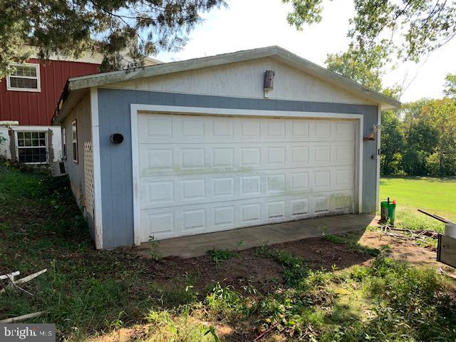 Detached garage - 9714 BRENTSVILLE RD, MANASSAS
