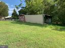 Shed with additional storage - 9714 BRENTSVILLE RD, MANASSAS
