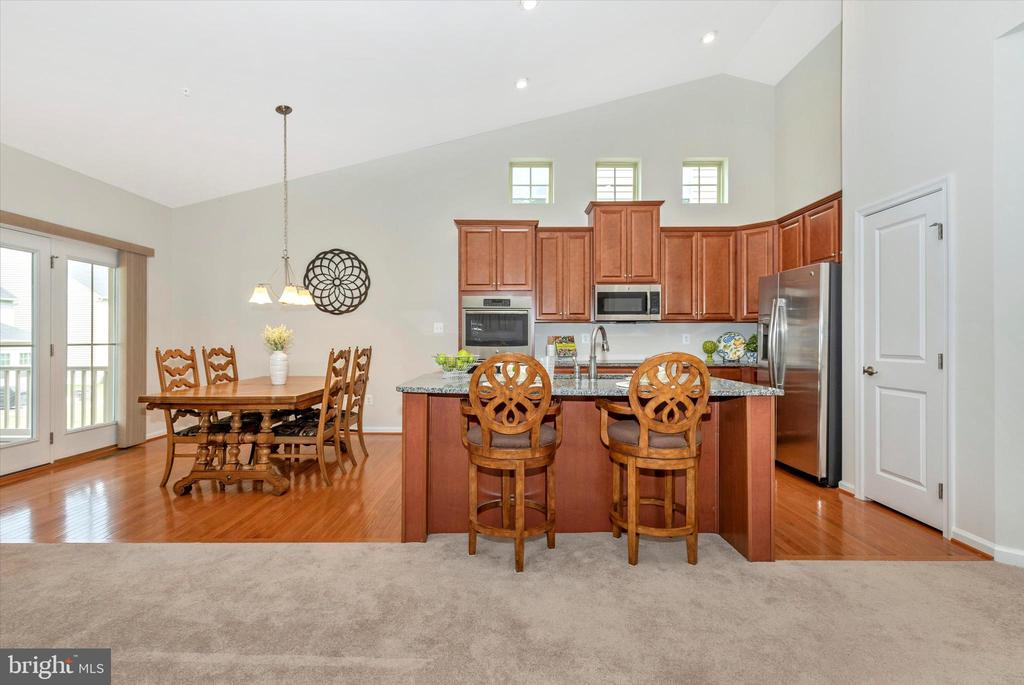 Hardwood Flooring in Kitchen and Dining. - 5944 DUVEL ST, IJAMSVILLE