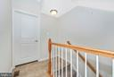 Staircase to Huge Finished Basement - 5944 DUVEL ST, IJAMSVILLE