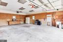 Plenty off space in the garage for projects - 5202 CEDAR RD, ALEXANDRIA