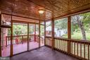 Beautiful View from the screened porch - 5202 CEDAR RD, ALEXANDRIA