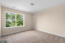 Bedroom with two-tone color paint - 173 WHITE OAK ROAD, FREDERICKSBURG