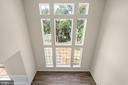 Two-story Family Room with Atrium windows - 173 WHITE OAK ROAD, FREDERICKSBURG